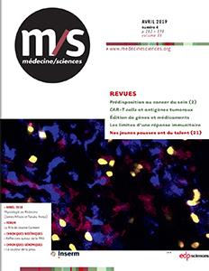 Cahier de Myologie Hors-série n°2 de Médecine/Sciences