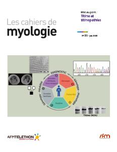 Cahier de Myologie n°20 de Médecine/Sciences (Juin 2020)